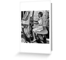 The Joy Ride Greeting Card