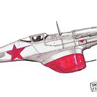 Yak-9D by Steve's Fun Designs