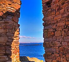 Through The Arched Window.. by GillBell