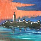 Venice at Sunset by Louise Griffiths