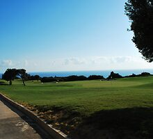 Golfing in Cyprus by Stephen West