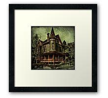 Californian Victorian Framed Print