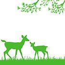 Deer by Lara Allport