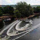 Putney Bridge , Bath by Ashley Wells