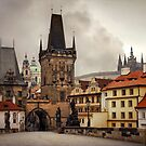 Charles bridge by Julia Shepeleva