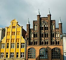 MVP18 Fascades, Stralsund, Germany. by David A. L. Davies