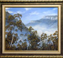 FOG BELOW THE ESCARPMENTS by John Cocoris