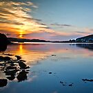Loch Dunvegan sunset by Shaun Whiteman
