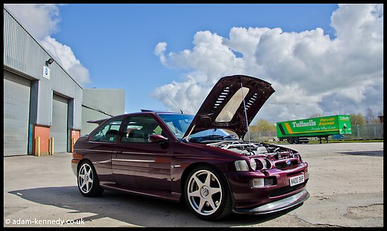 Escort Cosworth Monte - Front 3/4 Shot by Adam Kennedy
