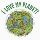 i love my planet by Emir Isovic