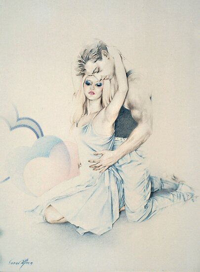 Affection (Pastel Pencil) by Sara Moon