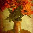 Just a flower display ©  by Dawn M. Becker