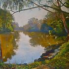 Autumn Morning - Goulburn River by Lynda Robinson