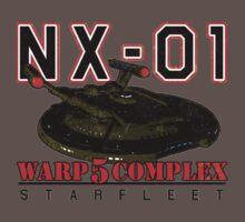 Warp 5 Complex NX-01 Full Back by Jeffery Wright