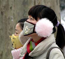 Winter wear in Nanjing, China by DaveLambert