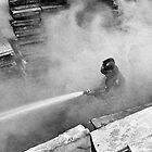 Smoke and Fire by photosbytony