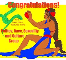 Politics, Race, Sexuality and Culture Group Banner entry by redqueenself