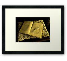 """""""Unfinished"""" Framed Print"""