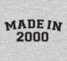 Made in 2000 by personalized