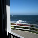 """""""View From the Front Porch at Old Lighthouse"""" by waddleudo"""