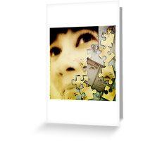 Jigsawed II Greeting Card