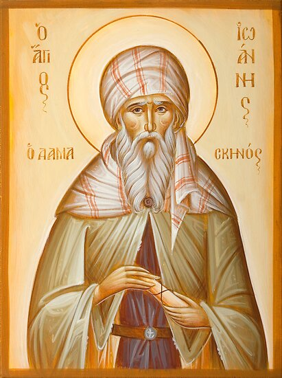 St John of Damascus by ikonographics