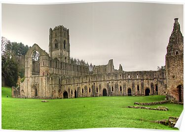 Fountains Abbey by Trevor Kersley