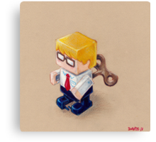 Office Space (EP illustration) Canvas Print