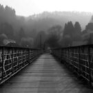 BRIDGE OVER THE RIVER WYE by Redtempa