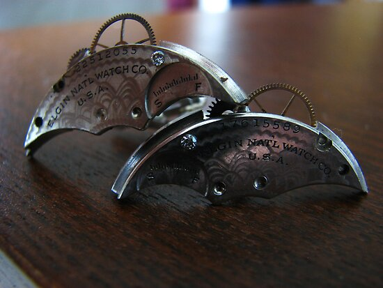 Antique Diamond Cufflinks - Steampunk, Victorian by Kristi B