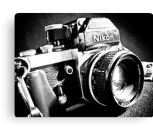 Nikon F2 Canvas Print