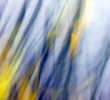 An April Afternoon Abstract Impressionism by Mitch Labuda