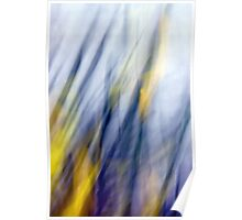 An April Afternoon Abstract Impressionism Poster