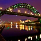 Tyne Bridge - Newcastle by Mark Tomlinson