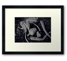 She's Come Undone Framed Print