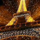 Eifel Tower at Christmas by Mark Tomlinson