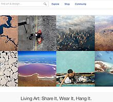 Birds Eye View - 6 April 2011 by The RedBubble Homepage