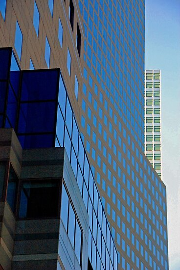 NY Architecture 2 by Leon Heyns