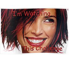 Challenge Marker Watching Poster