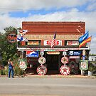 Route 66 - Sandhills Curiosity Shop by Frank Romeo