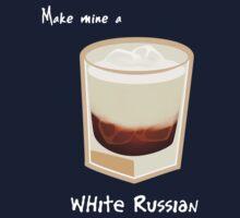 Make mine a White Russian by Joumana Medlej