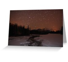 Light pollution Greeting Card