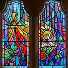 Cathedral of St.Paul Leadlight ( 1 ) by Larry Lingard-Davis