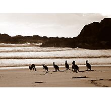 Day out at the Beach Photographic Print