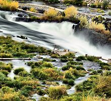 Sherar Falls Deschutes River Oregon by Don Siebel