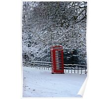 - Country phone box Poster