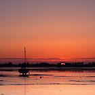 Heybridge Basin 06.28 am Essex  UK by James  Key
