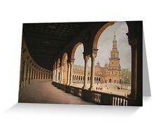 Plaza de España - Sevilla Greeting Card