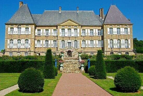 Chateau Dree, замки Бургундии, самые красивые замки во Франции
