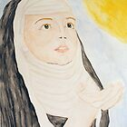 Hildegard von Bingen by TriciaDanby